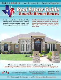 El Patio In Mission Tx by Rio Grande Valley Real Estate Guide Volume 1 Issue 6 By Rgv Real