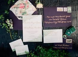 wedding invitations okc calligraphy and custom wedding stationery portfolio