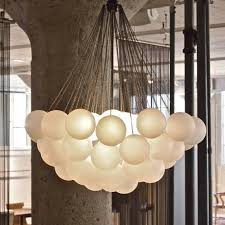 Cloud Chandelier Upscale Lights To Dine For How To Spend It