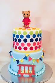 daniel tiger cake daniel tiger themed birthday cake sweet cakes by gaga
