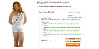spirit halloween size chart the call me caitlyn costume is not a funny joke huffpost
