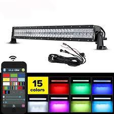 multi color led light bar customized high lumen 5d multi color morph changing rgb led light
