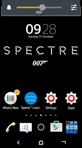 themes for mihome apk spectre 007 james bond xperia theme apk free download android