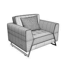 Canapes Roche Bobois by Roche Bobois Satelis Canape Sofa And Armchair Free 3d Model Max