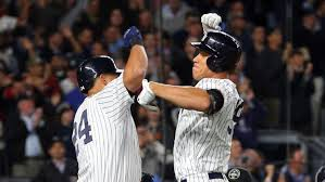 Aaron Judge Gary Sanchez Struggle In Game 1 Loss To Indians Newsday - yankees unveil alds roster ahead of game 1 sny