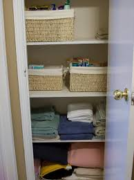 organizing your linen closet home design ideas