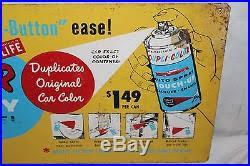 vintage 1960 u0027s dupli color car spray paint paints gas oil 2 sided