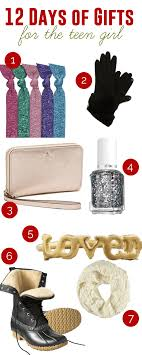days gifts 12 days of gifts for the girl add a pinch