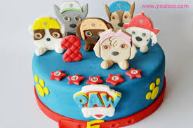 personalised edible cake decoration PAW PATROL cake toppers