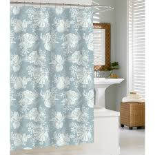 seashell bathroom decorating ideas seashell shower curtains
