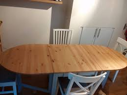 ikea folding table gamleby and 4 chairs in kentish town london