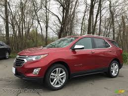 2018 chevrolet equinox premier awd in cajun red tintcoat 111675