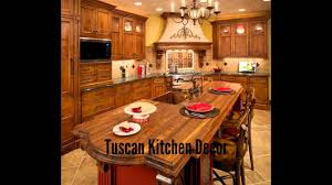 tuscan kitchen decor youtube