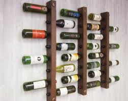 one sided wine rack 8 bottle stacked