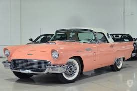 Classic Cars For Sale In Los Angeles Ca 1957 Ford Thunderbird In Los Angeles Ca United States For Sale On