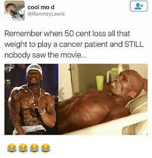 50 Cent Birthday Meme - cool mo d lewis remember when 50 cent loss all that weight to play a