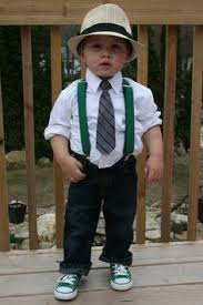 checked shirt suspenders bow tie my cousins