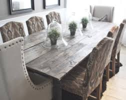 Farmhouse Dining Room Tables White Distressed Dining Table Foter Pertaining To Farmhouse Design