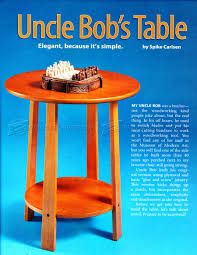 side table plans u2022 woodarchivist