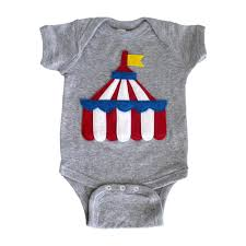 Mi Flag Circus Tent Infant Bodysuit The Greatest Showman X Mi Cielo