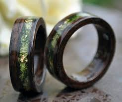 wood wedding rings wedding rings