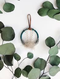 mini dream catcher boho housewarming gift bohemian gift