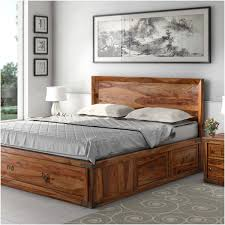 Rustic Wooden Beds Rustic Solid Wood Platform Beds Sierra Living Concepts