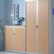 armoire metallique bureau armoires portes rideaux 2m mobilier bureau à armoire métallique