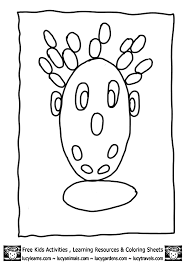 oval coloring page color shapes worksheet coloring home