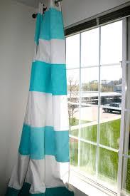 la vie diy diy ombre striped curtains