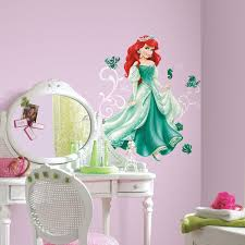 Princess Wall Mural by Disney Princess Wall Art Decals Color The Walls Of Your House