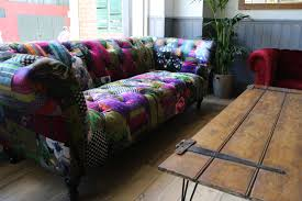 Chesterfield Patchwork Sofa by 2014 06 10 13 19 00 Cafe Barcelona