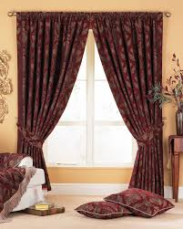 Burgundy Curtains For Living Room Window Treatments Burgundy Curtains For Living Room Black And