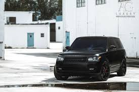 matte black range rover ag luxury wheels range rover forged wheels
