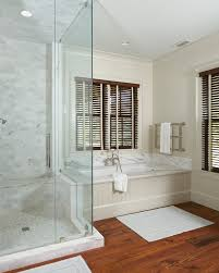 Clear Bathtub Marble Subway Tile Shower Bathroom Traditional With Bathtub Clear