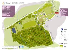 estate map kinneil estate falkirk community trust