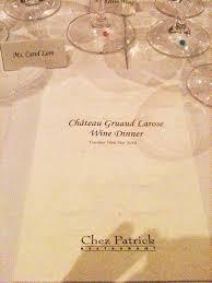 30 years of château gruaud chateau gruaud larose dinner