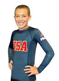 kids usa fuji sports kids usa rashguard