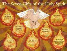 what happens at the rite of confirmation the 7 gifts of the holy