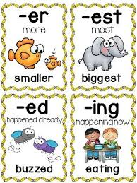 prefix and suffix clipart collection