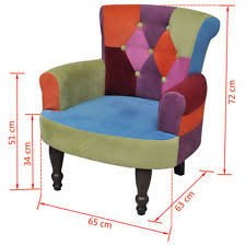 patchwork chair ebay