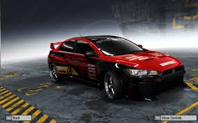 mitsubishi evo red and black nfsunlimited net need for speed rivals most wanted world and