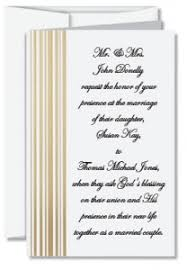 wedding wording sles christian wedding invitation wording paperdirect