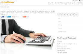 Good Resume Builder Website by Livecareer Resume Builder Resume For Your Job Application