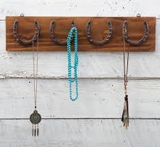 western decor western bedding western furniture cowboy decor horseshoe wood jewelry holder