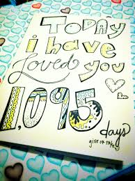 11 year anniversary gift ideas on 11 05 13 of the day we met our number will be 1 883 days