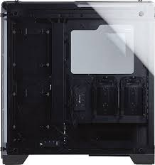 amazon com corsair crystal series 570x rgb tempered glass