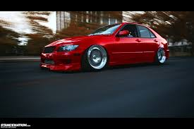 is300 slammed bagged lexus on definitely dapper chris u0027 689whp lexus is300 stancenation