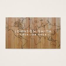 wood world custom world map business cards zazzle ca