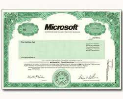 microsoft stock one real share of microsoft corporation stock in 2 minutes stock